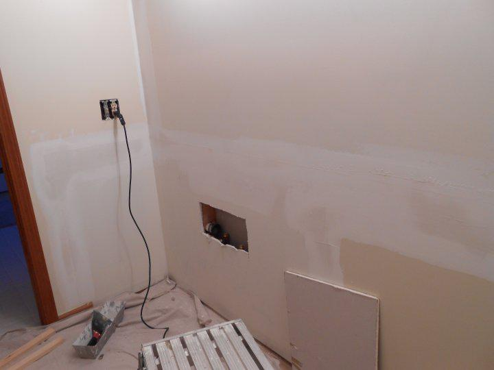 how to fix plaster after freezing