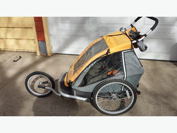 Mec Double Stroller Bike Trailer In Euc Outside Moose Jaw Moose Jaw
