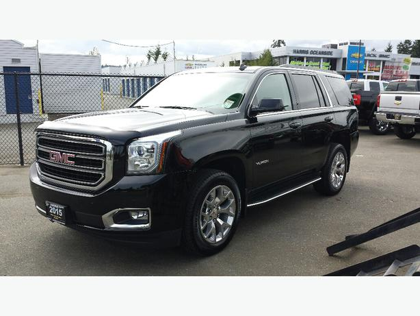 used 2015 gmc yukon slt for sale in parksville outside cowichan valley cowichan. Black Bedroom Furniture Sets. Home Design Ideas