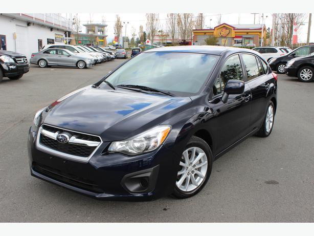 2014 subaru impreza premium w all weather package surrey incl white rock vancouver. Black Bedroom Furniture Sets. Home Design Ideas