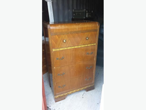antique waterfall chest of drawers central nanaimo nanaimo