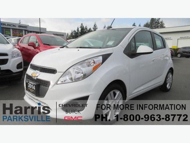2014 chevrolet spark 1lt automatic outside nanaimo. Black Bedroom Furniture Sets. Home Design Ideas