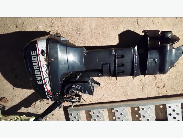 Evinrude 9 9 hp long shaft outboard motor duncan cowichan for 9 9 hp long shaft outboard motor