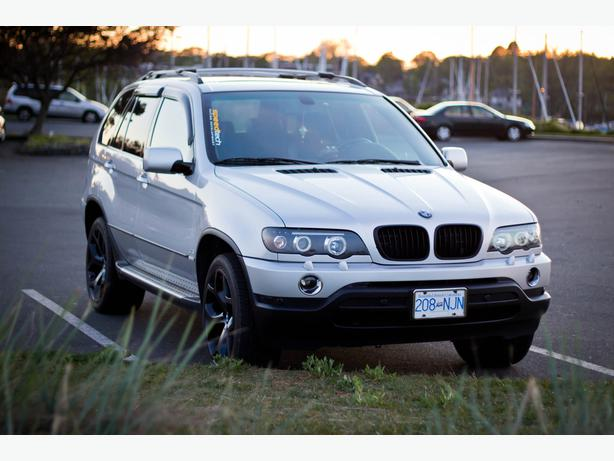 clean 2002 bmw x5 silver navigation auto start by. Black Bedroom Furniture Sets. Home Design Ideas