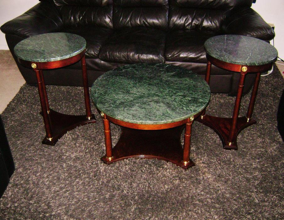 3pc Beautiful Real Marble Coffee And End Tables Central Ottawa Inside Greenbelt Ottawa Mobile