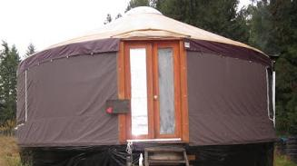 Yurt Vancouver Island Parksville