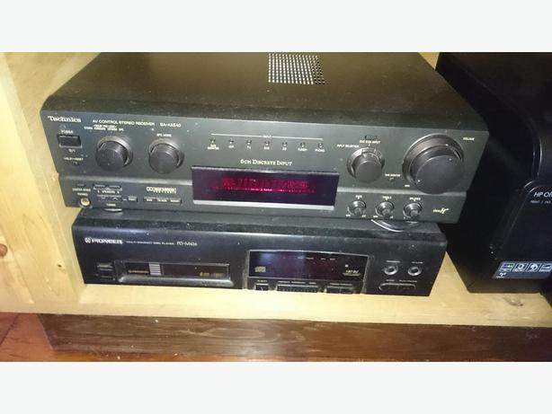6 Disc CD player and Receiver