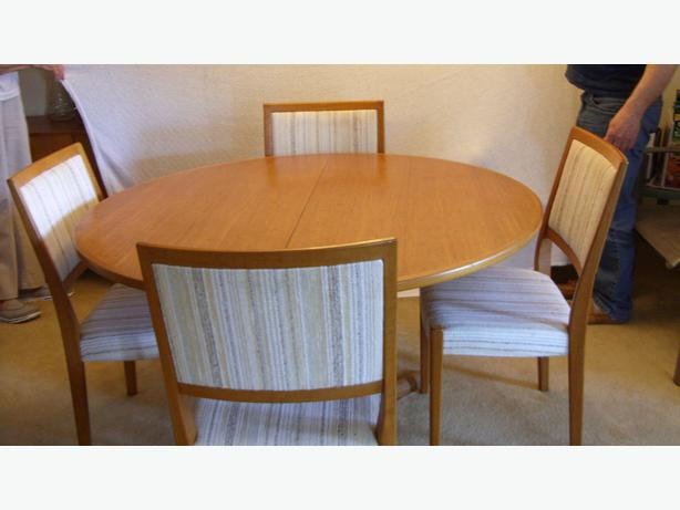 teak dining set includes table 8 chairs buffet hutch victoria