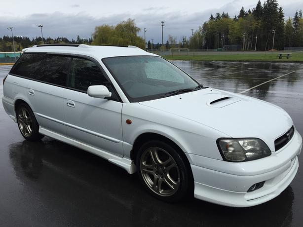 1999 subaru legacy wagon gt twin turbo awd outside. Black Bedroom Furniture Sets. Home Design Ideas