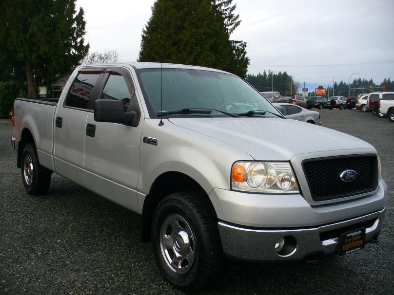 2006 ford f150 4x4 crew cab no accidents island vehicle low km outside comox valley campbell. Black Bedroom Furniture Sets. Home Design Ideas
