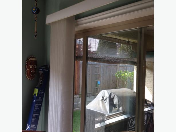 free vertical blinds for patio door qualicum nanaimo