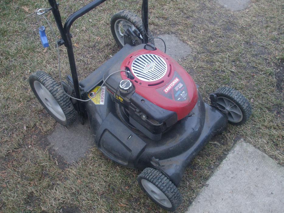 craftsman 6.5 hp lawn mower manual
