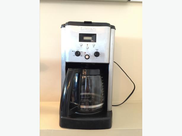 Cuisinart Coffee Maker Noise : Cuisinart Coffee Maker Oak Bay, Victoria