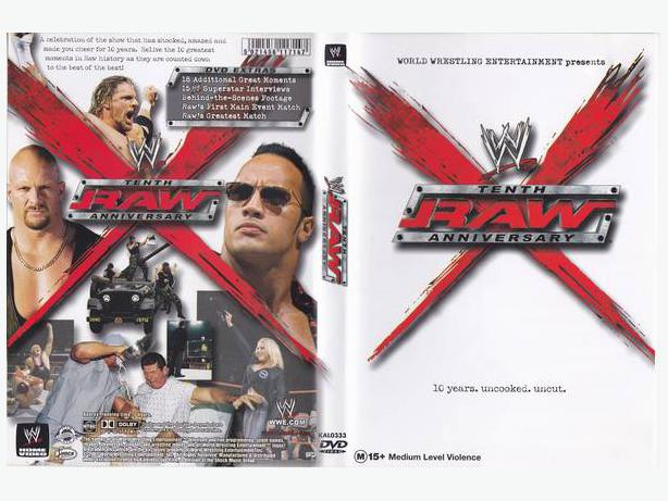 WWE: Raw - Tenth Anniversary (2003) MINT CONDITION
