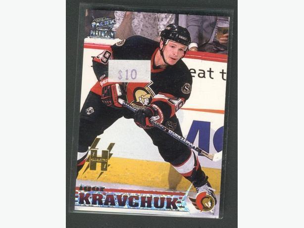 98/99 Pacific Paramount #163 Igor Kravchuk Holoelectric Ottawa Senators