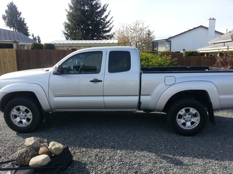 2009 toyota tacoma access cab for sale in ladysmith. Black Bedroom Furniture Sets. Home Design Ideas