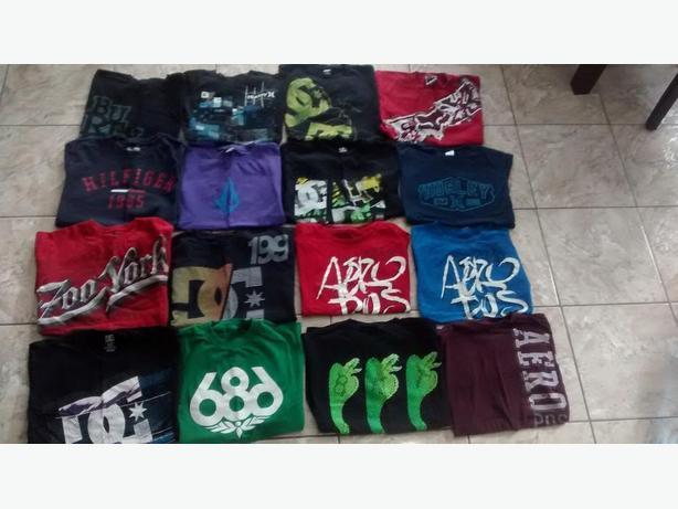 Boys (Youth) Brand Name T-Shirts - Size XL/Mens Sm