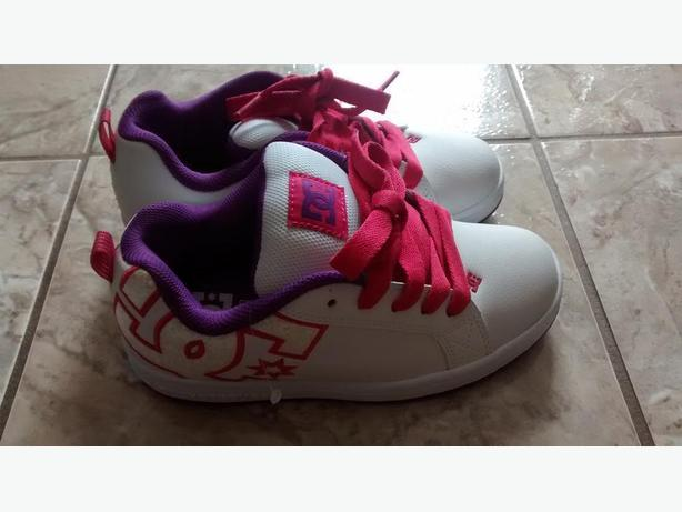 Brand New - Girls (Youth) Size 6 DC sneakers!