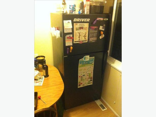 LOWER PRICE - Black Whirlpool Fridge