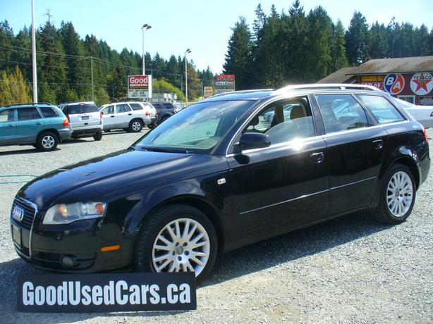 2006 audi a4 wagon quattro outside comox valley campbell river mobile. Black Bedroom Furniture Sets. Home Design Ideas