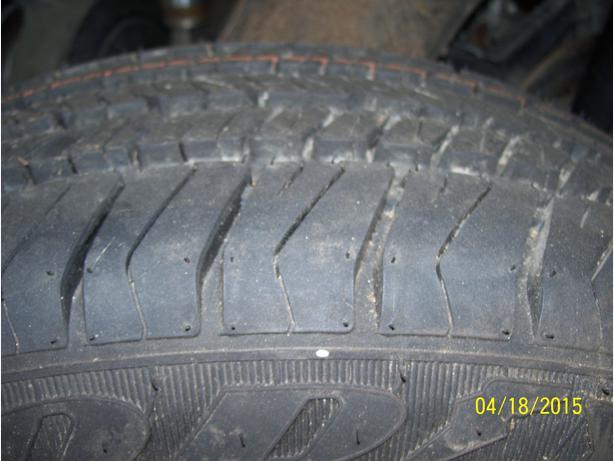 Goodyear Eagle tire  195/65R15 on VW Golf rim NEW