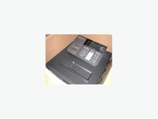 CASH REGISTER - CASIO PCRT290L, USED, THERMAL PRINTER, KEYS, ROL