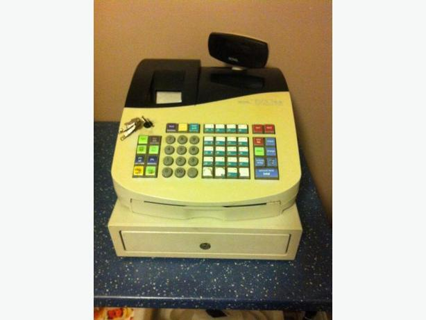 CASH REGISTER - ROYAL ALPHA 583CX, KEYS,MANUALS,PROGRAMMING