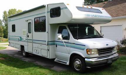Brilliant 1994 Ford Falcon 190SLF Class B Motorhome Stock 79433