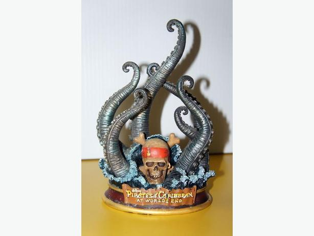 Pirates of the caribbean octopus message holder