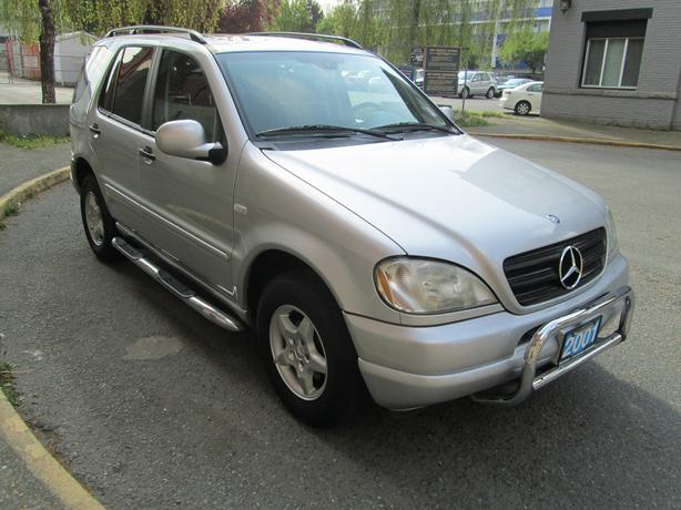 2001 mercedes benz ml320 on sale local bc vehicle. Black Bedroom Furniture Sets. Home Design Ideas