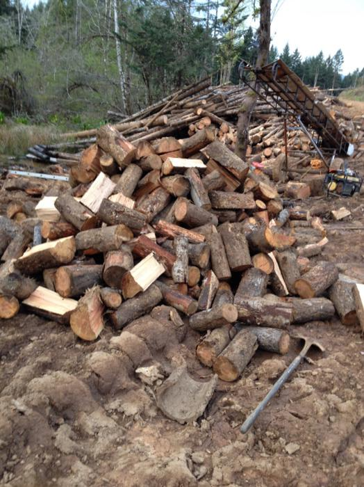 Full cords of fir firewood for sale now outside nanaimo