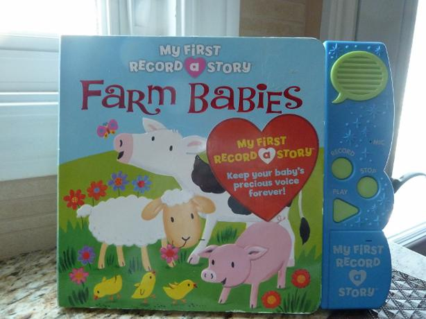 My First Record a Story Book Farm Babies