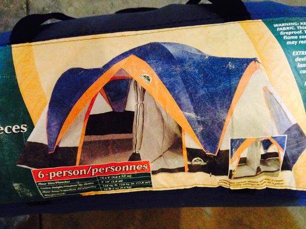 escort 7 person family dome tent