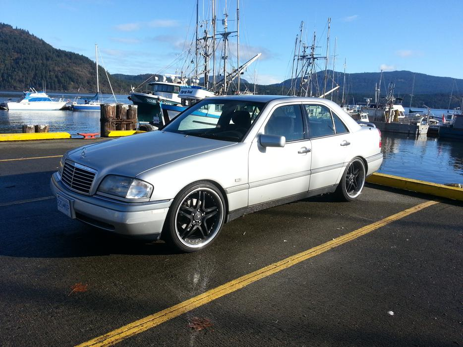 1995 mercedes benz c220 very low kms price reduced malahat for Low cost mercedes benz