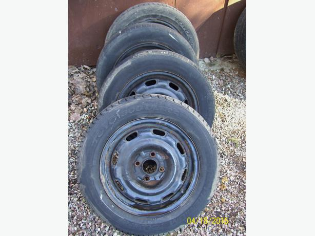 93-98 VW Golf 14 inch rims with Toyo tires 195/60 R14