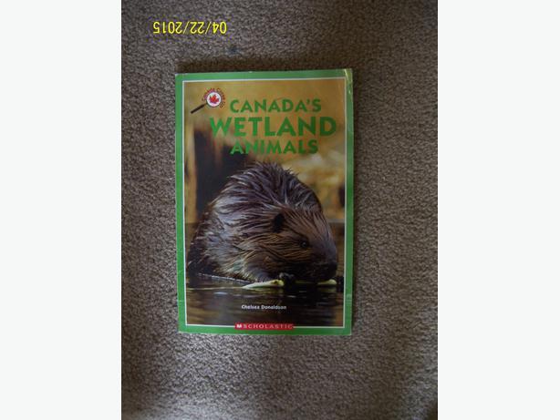 Canada' s Wetland Animals kids book