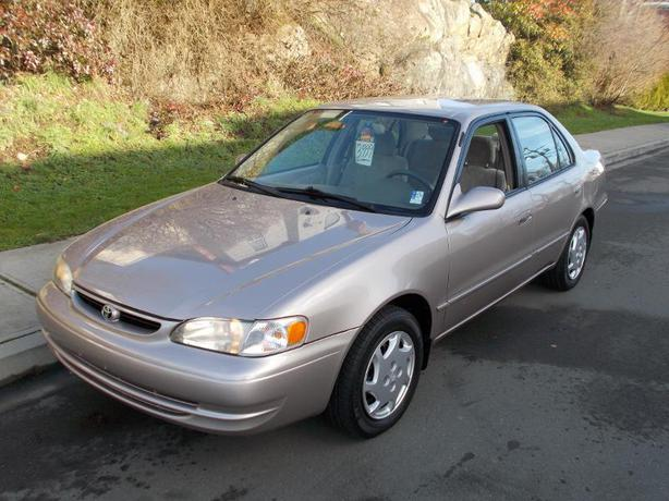 1999 toyota corolla le 40 mpg auto 4 cylinder. Black Bedroom Furniture Sets. Home Design Ideas