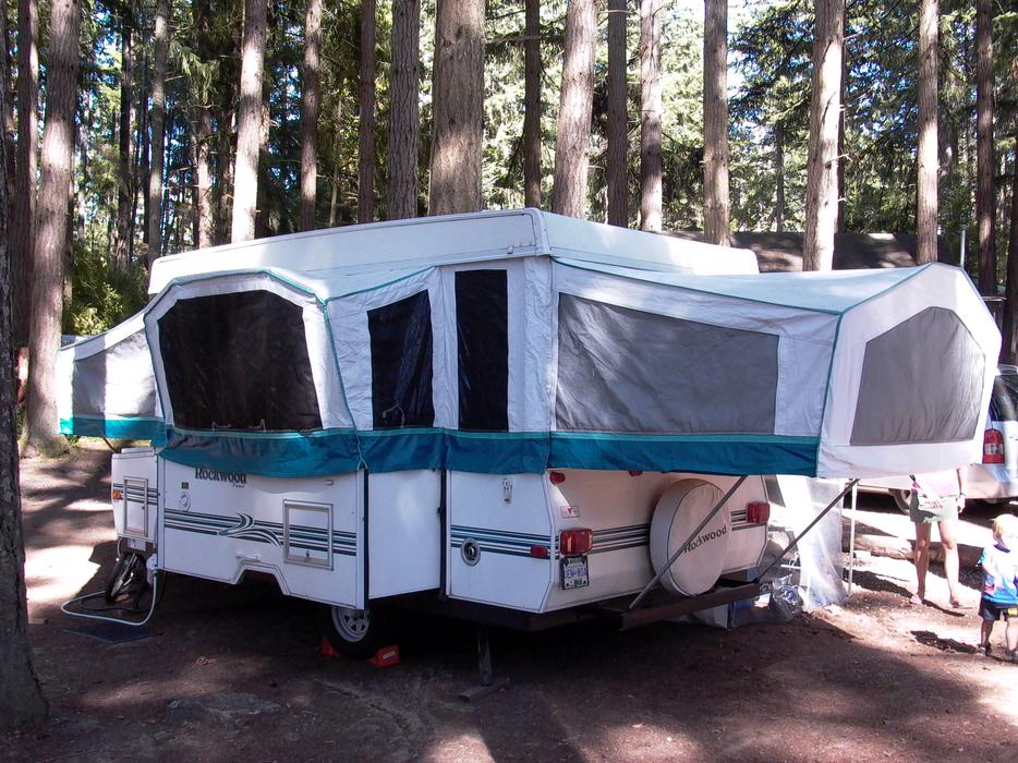 1999 Rockwood Tent Trailer With Slide Out Saanich