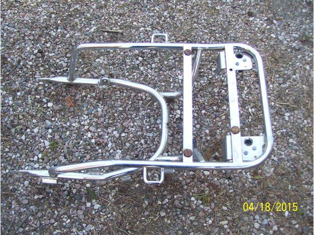 Honda Goldwing 1100 GL1100 chrome trunk stay 1980-1983