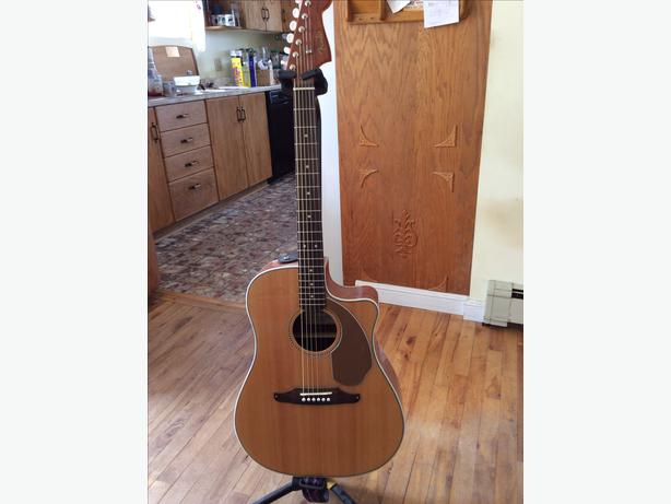 fender acoustic electric guitar stand amp bag reduced georgetown pei. Black Bedroom Furniture Sets. Home Design Ideas