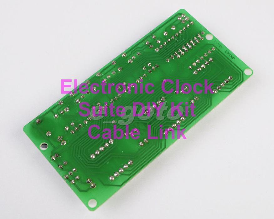 Electronic clock suite diy kits for arduino raspberry pi