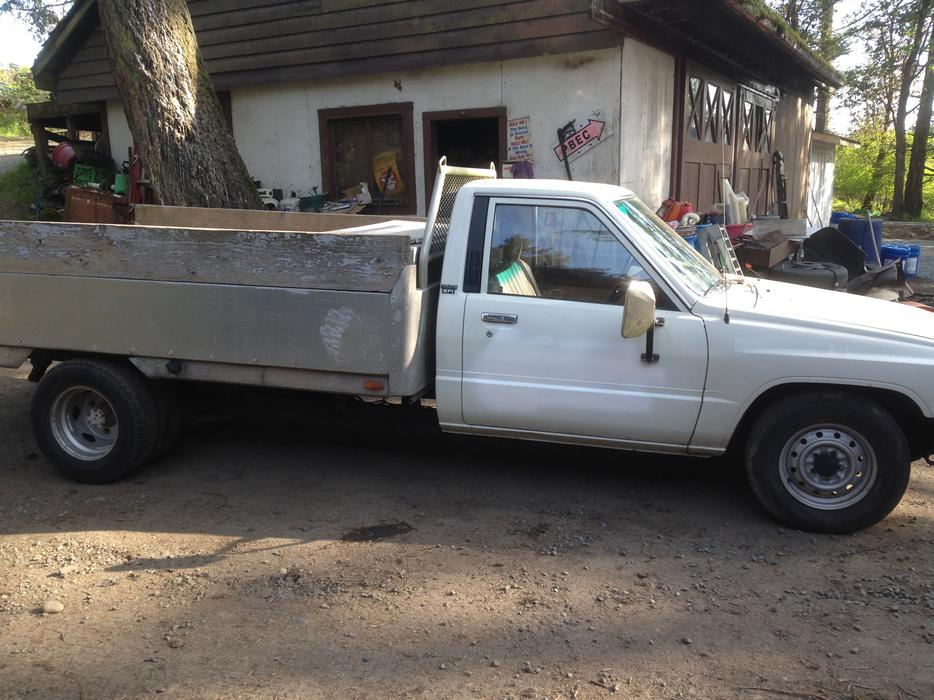 Toyota Grand Forks >> 1986 toyota 1 ton dually pickup Saanich, Victoria
