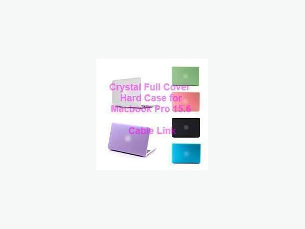 Crystal Hard Case Full Set (Front and Back) for Macbook Pro 15.4