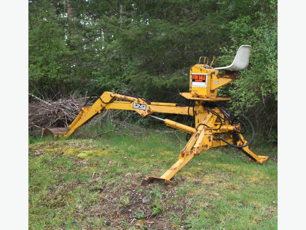 3 Point Hitch Backhoe Attachments : Long a three point backhoe attachment outside victoria