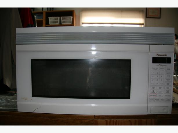 Panasonic over range microwave outside comox valley comox valley - Red over the range microwave ...