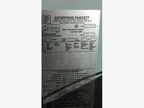 enterprise fawcett oil furnace manual