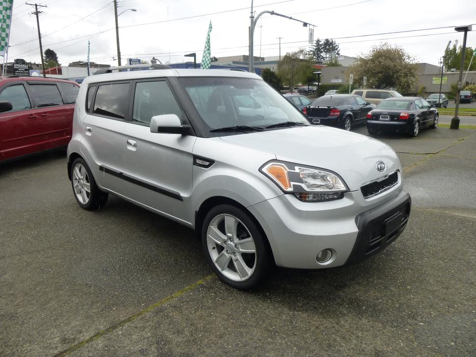 2010 Kia Soul 4u Outside Comox Valley Comox Valley