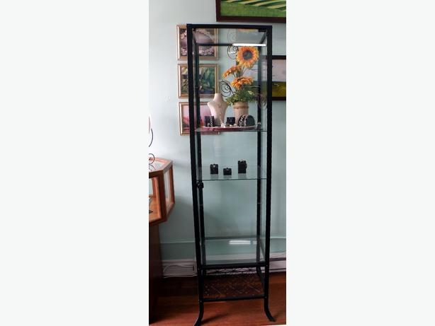 ikea glass cabinet with lock. Black Bedroom Furniture Sets. Home Design Ideas