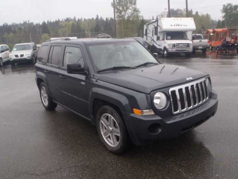 Jeep Patriot Tire Size U003eu003e 2008 Jeep Patriot Outside Okanagan, Okanagan    MOBILE
