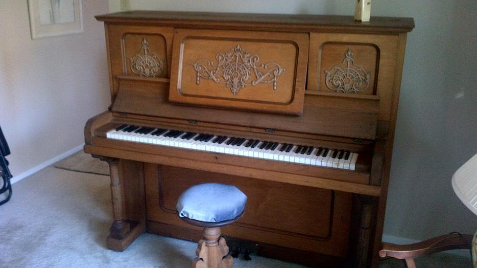 Antique Kimball Cabinet Grand Piano Rideau Township Ottawa Mobile